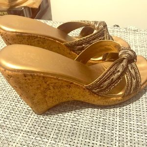 Shoes - Italian-made wedges!